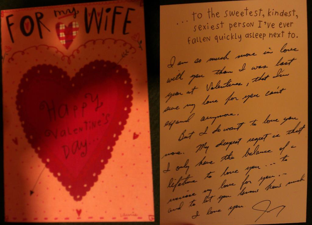Jimmy's Valentine for Liz