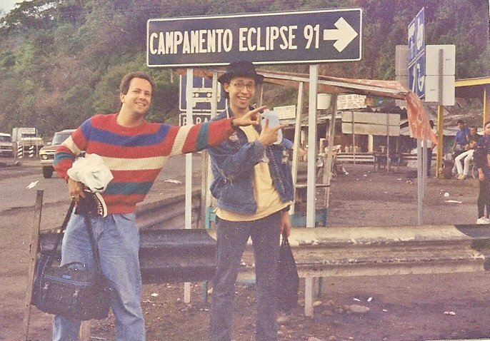 Heading to the 1991 Mexico Eclipse with Henry