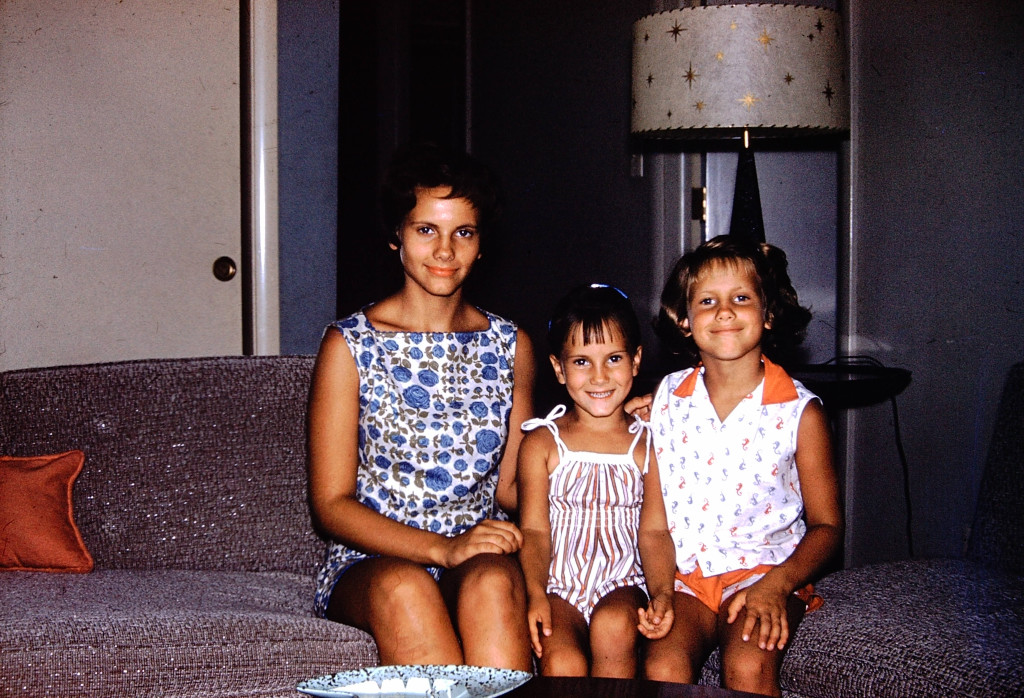 My sisters Kathy, Beth and Rosemary - Early Sixties