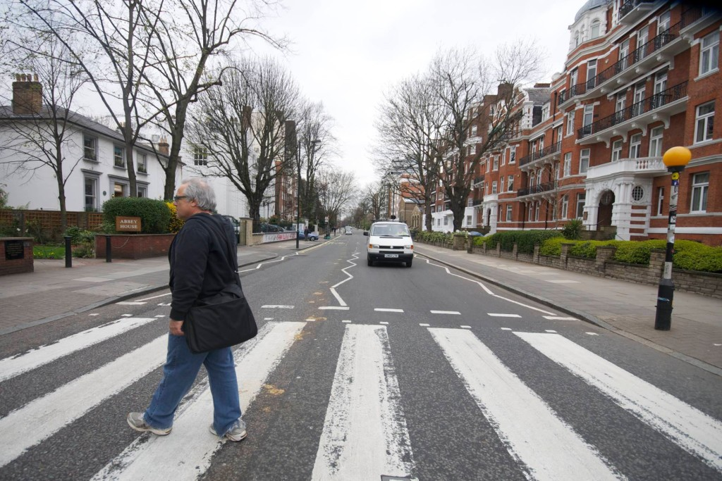 Beatles fan Alan Weinkrantz on Abbey Road